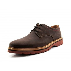 Zapato Clarks Newkirk Plain marrón