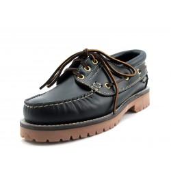 Zapato Snipe Nautico Azul Marino