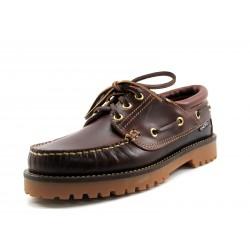 Zapato Snipe Nautico Marrón