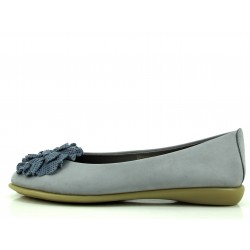 Zapato Bailarina Flexx azul