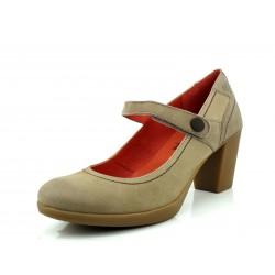 Zapato salón Yokono Aspen piedra