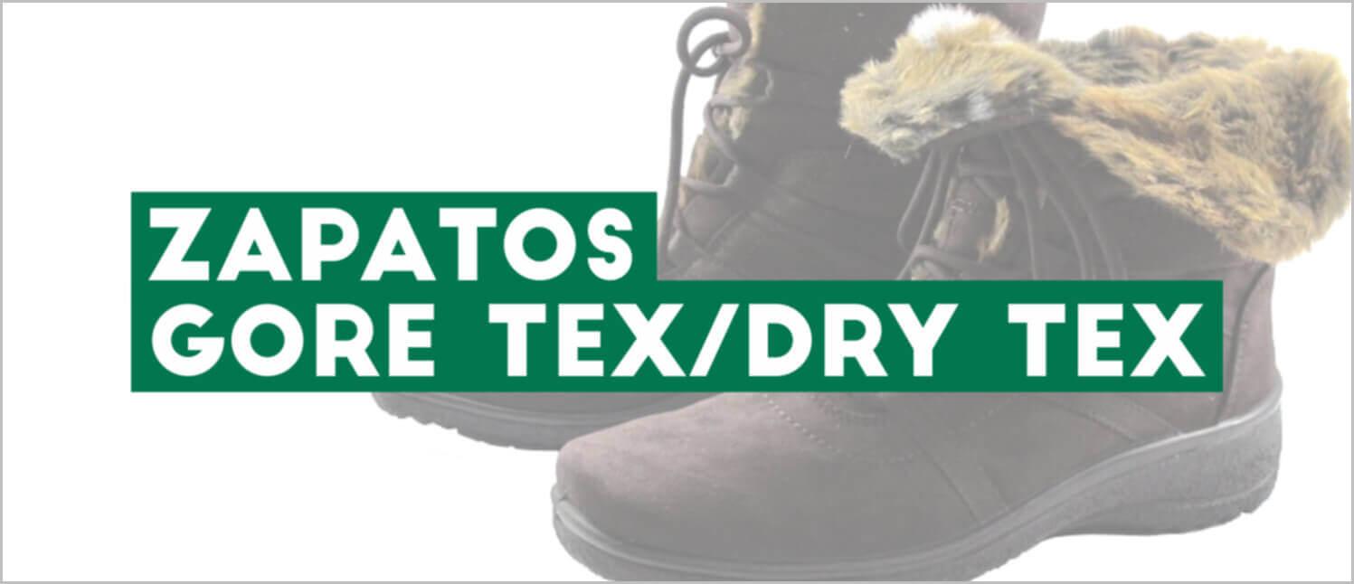 Zapatos Gore Tex / Dry Tex