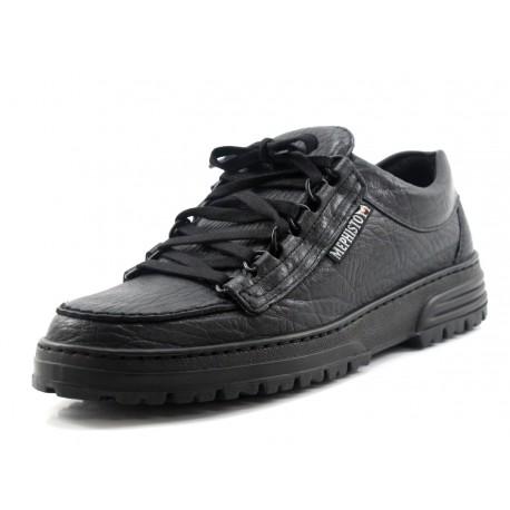 Zapato Mephisto Cruiser negro (Ancho especial)