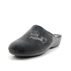 Zapatilla Hush Puppies Sleep Alba gris