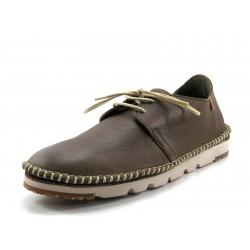 Zapato El Naturalista NF02 marrón cordones