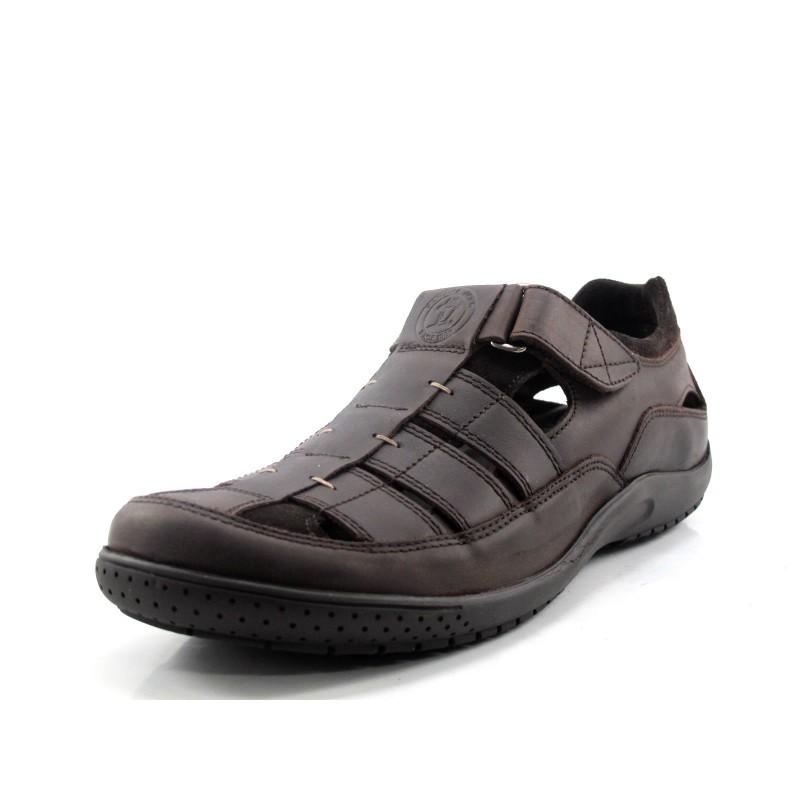 8a7c10ef7a9 Comprar Sandalia Panama Jack Meridian marrón en Dino Zapatos