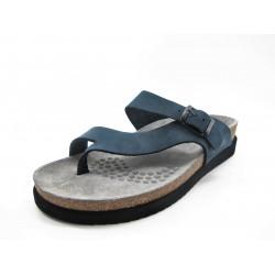 Sandalias con plantilla acolchada Helen by Mephisto azul