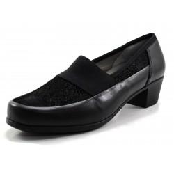 Zapato Ara negro elástico