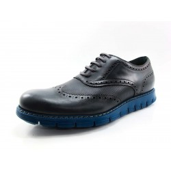 Zapato Angel Infantes oxford gris