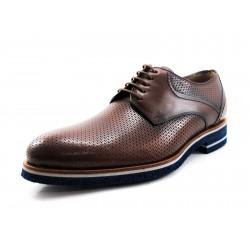 Zapato Angel Infantes marrón punteado