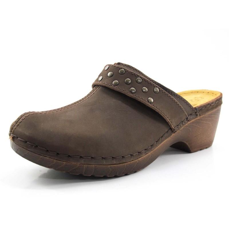 Comprar Zueco Jana marrón en Dino Zapatos 13973218b28