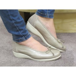 Zapato Drucker bailarina beig
