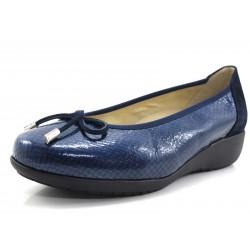 Zapato Drucker bailarina azul