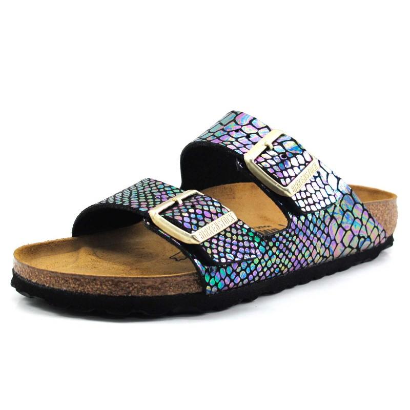 Zapatos de verano formales Birkenstock Arizona para mujer 9iULIDAcXY