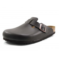 Zueco Unisex Birkenstock Boston marrón