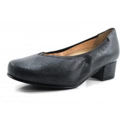 Zapato especial para plantillas negro Drucker