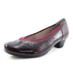 Zapato Ara burdeos charol
