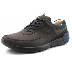 Zapato Ecco Cross X marrón