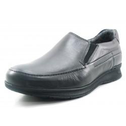 Zapato Fluchos Tauro elásticos negro