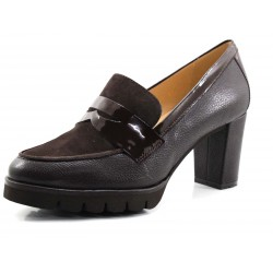 Zapato Gadea antifaz marrón