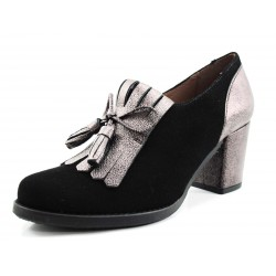Zapato Giko abotinado negro