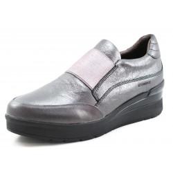 Zapato Stonefly Cream 1 metalizado