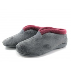 Zapatilla de hogar Lozoya gris