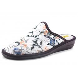 Zapatillas Nordikas flores beige