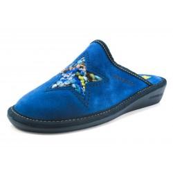 Zapatillas Nordikas estrella azul