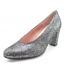 Zapatos Pie Santo salón gris