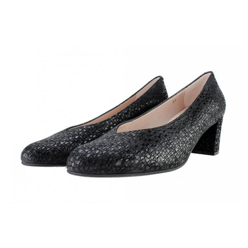Pico Zapato Salón Zapatos Pie Santo En Dino Negro Comprar PuTkXiZO