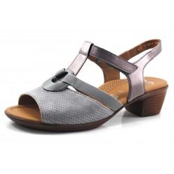 Sandalia color gris Ara chapa