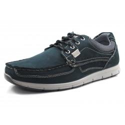 IMAC Zapatos de hombre color azul