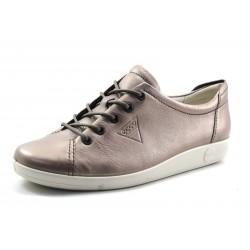 Zapato Ecco Soft 2.0 metalizado