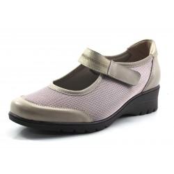 Zapato ancho especial Mery-Jane visón Pie Santo