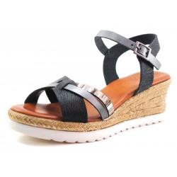 Sandalias para mujer Porronet modelo Olalla negro