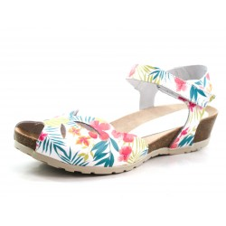 Sandalias Yokono tropical blanco