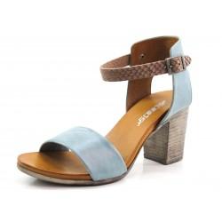 Sandalias tiras azul