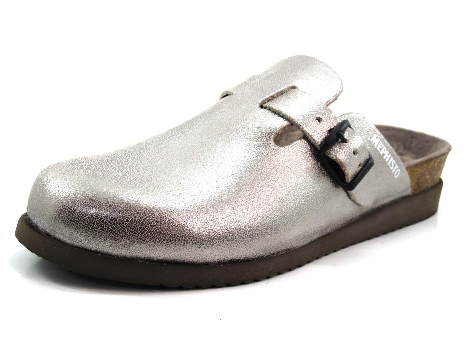 Comprar el Zueco Halina de Mephisto en color plata 6c3e6f207ff