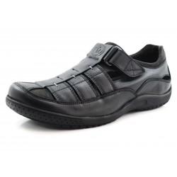 Sandalia de hombre negra MERIDIAN C2