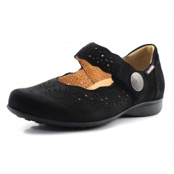 Zapatos de mujer para plantillas en negro Fabienne