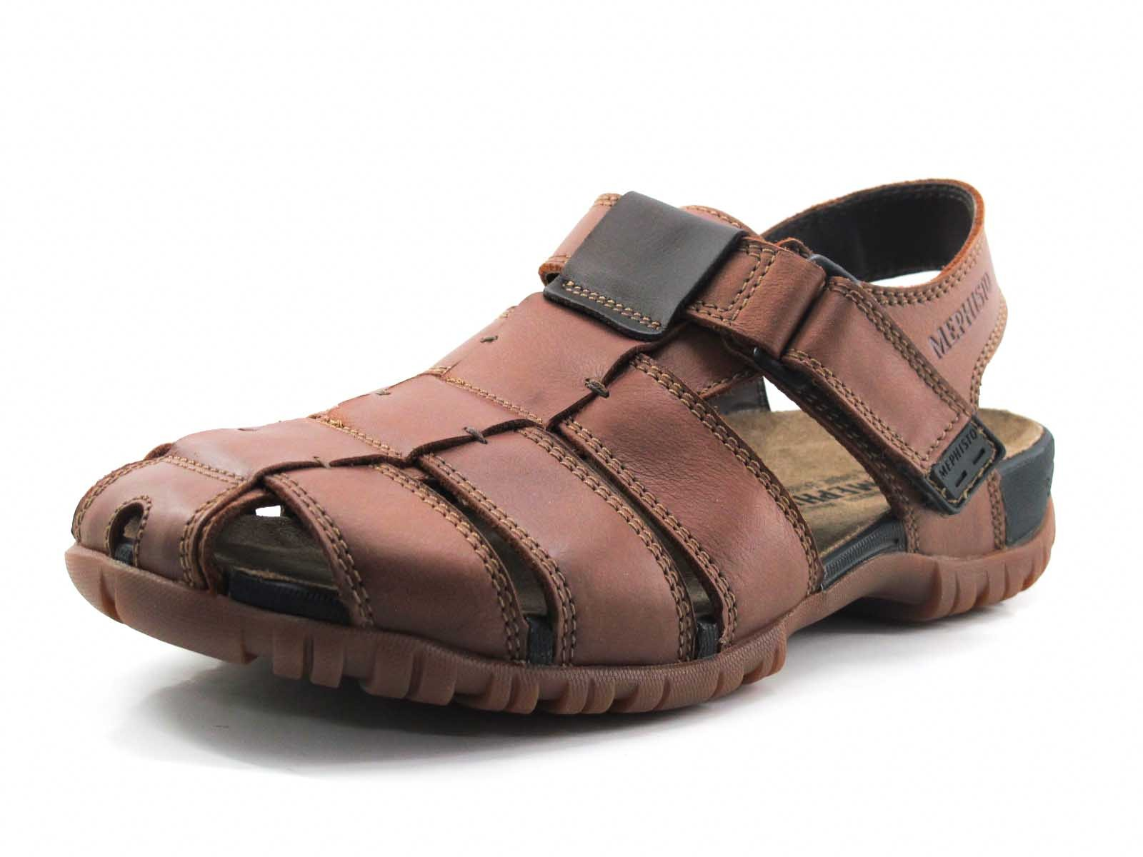 62bd4f0e4f9 Comprar Sandalia Mephisto Basile marrón Dino Zapatos