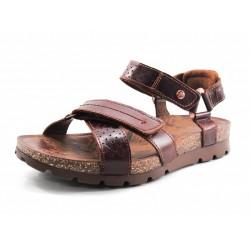 Sandalia de piel Sambo Explorer marrón Panama Jack