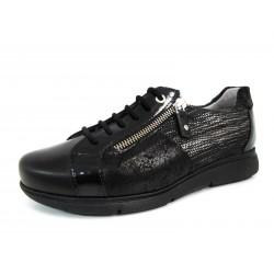 Zapatos Cordones Drucker Negros