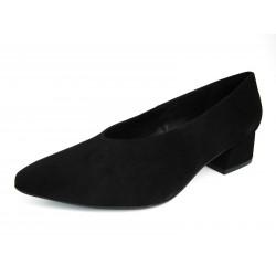 Zapatos Salón Recogidos Gadea Negros