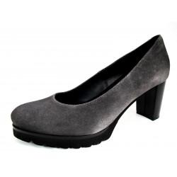 Zapatos Salón Plataforma Gadea Gris