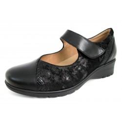 Zapatos Mercedes PieSanto Negros