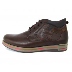 Botines Casual Fluchos Marrones