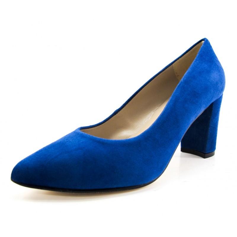 Compra Zapato Salón Cerrado Dibia Azul en Dino Zapatos 98ab245cfd10