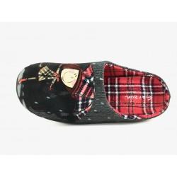 Zapatillas de estar por casa GARZON negro SUAPRINT